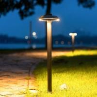 Lámpara de césped