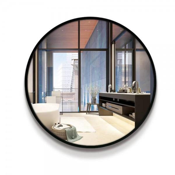 A1 espejo de baño inodoro espejo de pared estilo circular montado en la pared dormitorio sala de estar inodoro espejo de maquillaje wx8221848