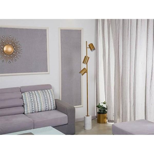 Europa Simple Soporte creativo Lámparas de pie Diseñador Mármol de metal Sala de estar Dormitorio Lámpara de pie Lustre de hierro Luminaria