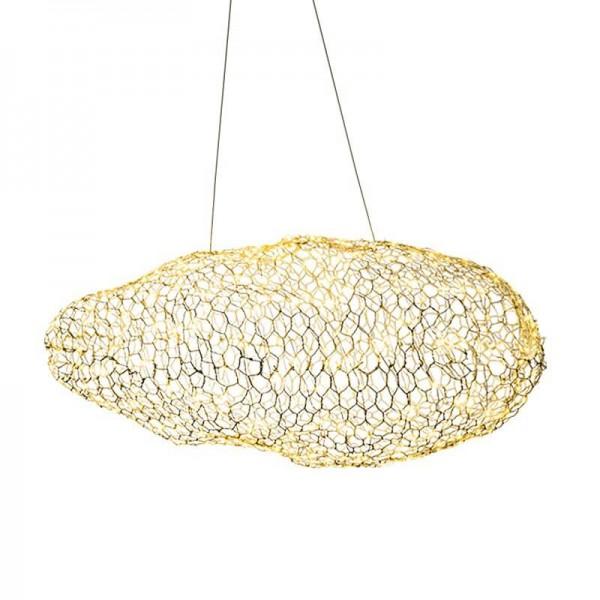 Modernos accesorios de luz de nube creativa lámpara colgante led personalidad estrellada hotel restaurante bar diseñador luciérnaga moderne lustre