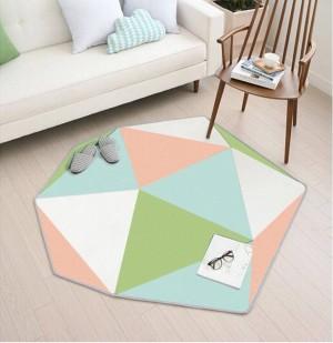 Alfombras alfombras de moda de alta calidad de 110cmx120m Alfombras en la alfombra de la sala de estar del piso