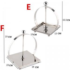304 Acero inoxidable Soporte de papel higiénico SLIVRE Accesorios de baño Papel de cocina Portapapel