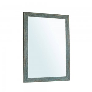 A1 Azul retro baño espejo colgante de pared sala de estar sanitario aseo maquillaje espejo wx8221506