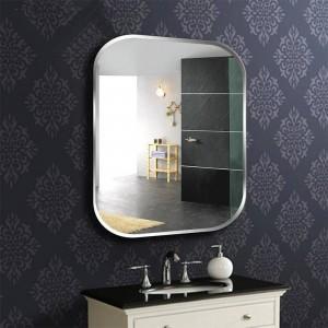 A1 sin marco baño cuadrado pared espejo tocador tocador lavabo espejo dormitorio pared colgante espejo de cristal wx8230936