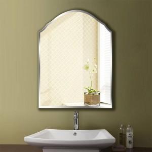 A1 Simple espejo de baño sin marco colgante de pared dormitorio baño aseo maquillaje vestidor espejo de pared wx8231035