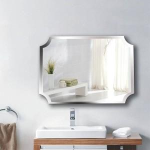 A1 Esquina interior sin marco simple espejo de baño colgante de pared baño aseo maquillaje vendaje pasta colgante espejo wx8221858
