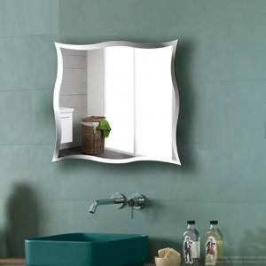 A1 Espejo de baño sin marco montado en la pared espejo de tocador personalizado pegatinas de pared espejo de maquillaje wx8231015