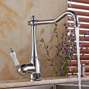 Grifo del lavabo del grifo de agua del baño para el baño y la cocina Grifo del cuarto de baño del grifo de la manija Grifo mezclador LH-6030L del fregadero de la cocina