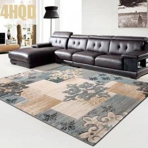 Artículo comercial de alfombras Moderna sala de estar simple Alfombra Dormitorio Sofá Mesa de centro Rectángulo tallado