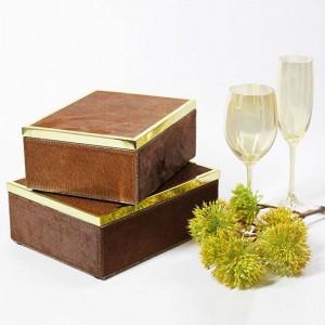 InsFashion cajas de joyería creativas hechas a mano creativas para una decoración moderna y lujosa