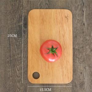 herramientas de cocina amigable rectángulo madera maciza tabla de cortar gabinete engrosamiento fruta tabla de cortar tabla de cortar tabla de pan