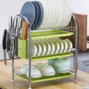 Cosas De Almacenaje Accessories Nevera Kuchnia Mutfak Malzemeleri Dish Drainer Cuisine Cozinha Cocina Organizador Kitchen Rack