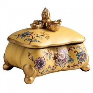 Almacenamiento creativo de joyas Caja decorativa Decoraciones de sala de estar casera Exhibición Regalo de cumpleaños