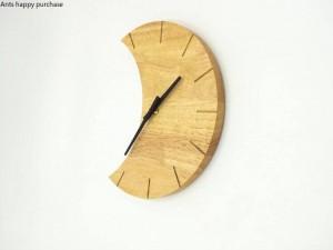 Creativo reloj de pared de madera Sencillo sea tranquilo salón dormitorio reloj de pared reloj de pared moderno diseño de pared decoración para el hogar