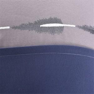 Elegante Borla Azul Jacquard Cojín Funda de Lujo Modelo de Habitación de Almohadas Americanas Textiles para el Hogar Suministros Silla Asiento Cubiertas de Coche
