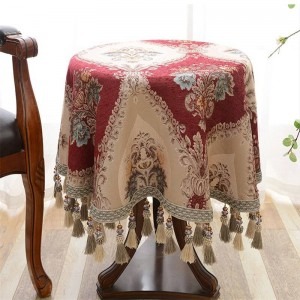 Bordado elegante mantel mantel boda mesa mantel tapete Toalha De Mesa Nappe Manteles, Tovaglia Rettangolare