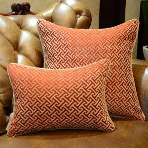Sofá de geometría elegante de lujo europeo Cojines decorativos Funda de cojín Decoración para el hogar Almofada Cojines Decorativos Recomendar