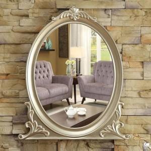 Espejo de baño europeo para colgar en la pared espejo de maquillaje para baño decoración porche dormitorio espejo de vanidad wx8231352