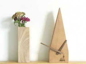 Hecho a mano de haya Escaneo creativo Segundo Reloj silencioso Registro de pared Reloj de pared Relojes de pared de madera Diseño moderno