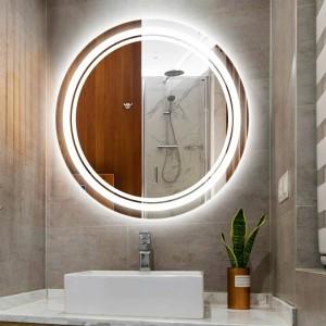Lámpara de pared de luz de espejo de maquillaje led redonda para el hogar IP54 a prueba de agua Cuarto de baño Cuarto de hotel Espejo de inodoro Luz led Accesorios de pared led