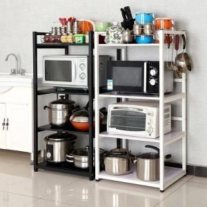 Estantería de decoración industrial Estantería de pared decorativa Estante de almacenamiento de cocina Organizador de baño Estante de cocina de sótano
