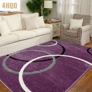 Sala de estar Mesa de centro Dormitorio simple y moderno Manta de cabecera Hogar pastoral americano con alfombra rectangular