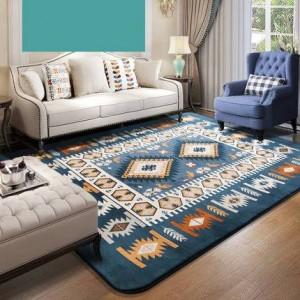 Manta mediterránea, sala de estar, dormitorio, mesita de noche, cubierta con manta de mesa de té, manta rectangular minimalista moderna