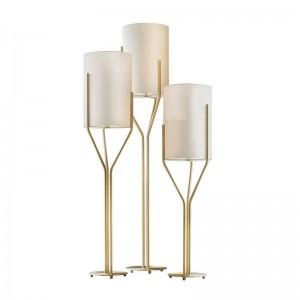 Moderna lámpara de pie decoración de arte simple personalidad personalidad nórdica sombra blanca sala de estar dormitorio estudio estudio iluminación del piso