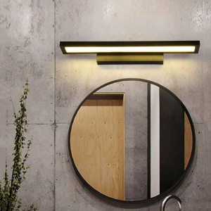 Modern Led Mirror Light AC90-260V LED Lámparas de pared Montado Lámpara de pared industrial Cuarto de baño Luz colgante Impermeable Acero inoxidable