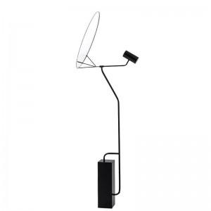 Lámpara moderna de pie simple lámpara de acrílico blanco lámpara de piso lámpara de entrada en el vestíbulo dormitorio de lectura oficina hogar Iluminación LED accesorio