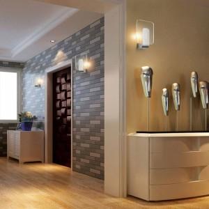Luminaria de pared moderna Luz led Lámpara de acero inoxidable 6w led lámpara de baño moderna baño espejo lámpara de pared lámparas de noche lámpara de noche