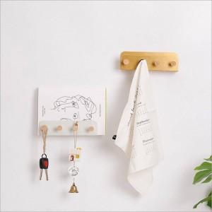 Multifunción de almacenamiento de metal gancho estante para la pared europea moderna ropa Misceláneos estante de la revista para la oficina en casa decoración organizador