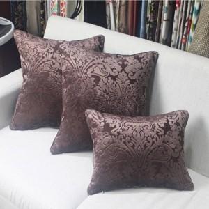 Nueva Europa Púrpura Funda de cojín Romatic Sofá de lujo Decorativo Cojines Funda de cojín Decoración para el hogar Almofada Cojines Boda