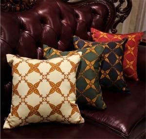 Nueva decoración para el hogar funda de almohada funda de cojín de lujo europeo tela tela funda de almohada dormitorio sofá fundas de almohada regalo, 1 unid