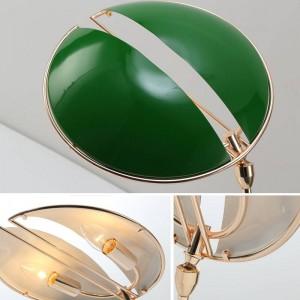 Nordic post lámpara de escritorio moderna lámpara de mesa de metal creativa lámpara de lectura 2 x lámpara LED E14 estudio sala de estar decoración del arte del hogar