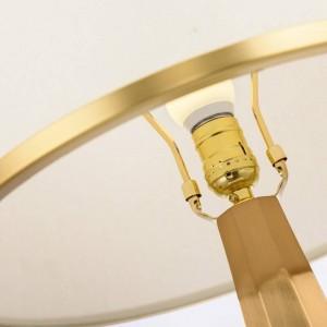 Estudio nórdico LED lámpara de mesa poste moderno mármol americano creativo salón dormitorio ropa de cama arte LED bombilla E27 luz de escritorio