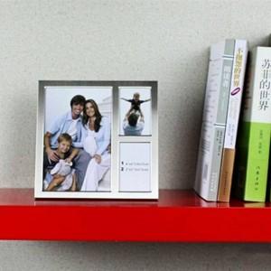 Marco de fotos de metal 6 pulgadas 3 pulgadas Marco de combinación tres decoración para el hogar regalo de cumpleaños decoración de la boda