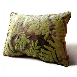 Rainforest Leaves 3D Funda de cojín Verde Capa De Almofada con estampado Shabby Chic Decoración para el hogar Decoración Cojines, Tamaño personalizado