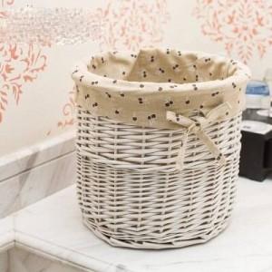 Cesto de mimbre de mimbre cesta de escritorio cesta de paja cesta de flores pequeña caja de almacenamiento de aperitivos caja de almacenamiento de artículos diversos