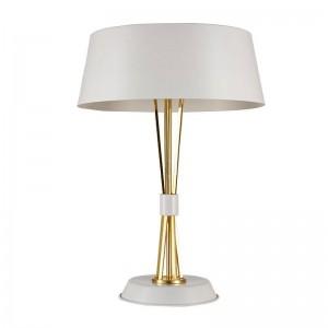 Lámpara de escritorio de estilo moderno simple lámpara de mesa creativa nórdica Kung negro blanco cuerpo 3 unids E27 lámpara 3W LED lámpara expreso libre