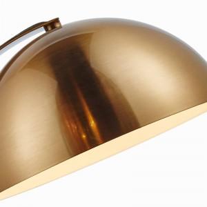 Lámpara de mesa sencilla, moderna, dorada, de metal, color, lámpara de escritorio, decoración Lampe creative E27 3W bombilla led Nordic Light