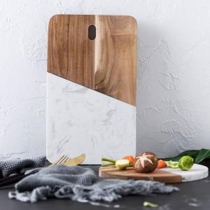 Tablero de piedra accesorios de cocina tablero de queso de mármol tablero de almacenamiento de joyas pan plato de sushi platos de comida occidental