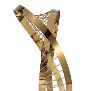 Cuatro Estaciones Estatua Ornamento Escultura Moderna Estatuilla Abstracta en Hotel y Club Artesanía Accesorios de Decoración del Hogar