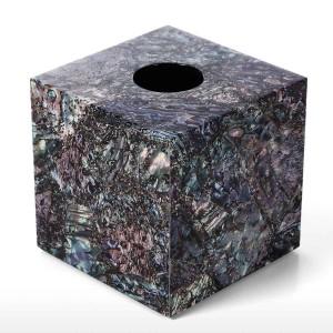Caja de pañuelos de madera Piano Baking Barnizado Tecnología Oficina Sala de estar Cuarto de baño Dormitorio Adorno Decoración para el hogar Tejido