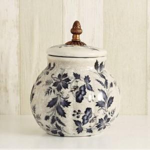 decoración de la boda Latas de caramelo decorativas creativas europeas Latas de cerámica Latas de té Tanques de cerámica europeos Nostalgia Regalos para el hogar